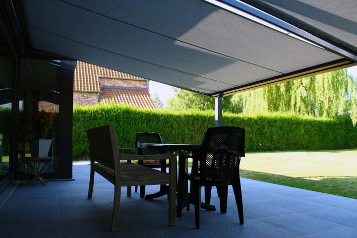 Zonnescherm Op Palen : Zonwering op palen screens kampenhout all sun keerbergen